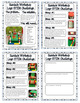 Christmas STEM Challenge Worksheets - Lego Conveyer Belt f