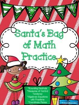 Santa's Bag of Math Practice