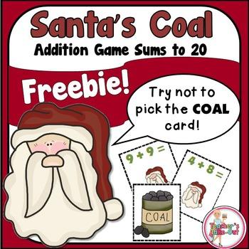 Santa's Coal - Addition Game