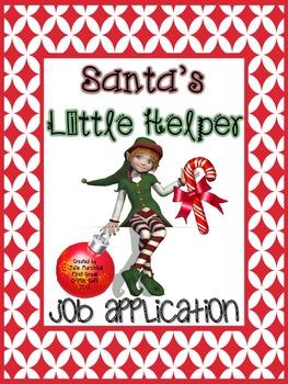 Santa's Little Helper: Job Application