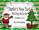 Santa's New Suit Writing Activity Freebie