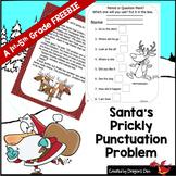 Santa's Prickly Punctuation Problem!