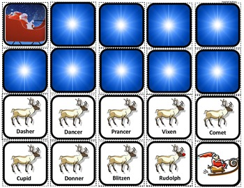 """Santa's Reindeer Sequence"" for Autism"