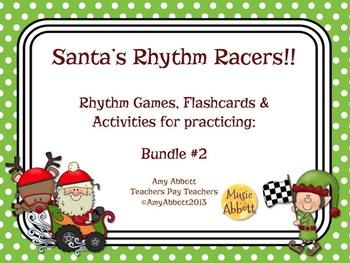 Santa's Rhythm Racers: Bundle #2