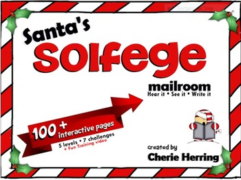 Santa's Solfege SMARTBoard Lesson