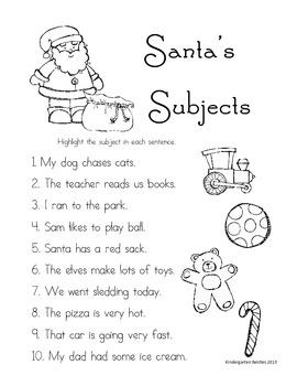 Santa's Subjects