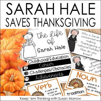 Sarah Hale Literature Guide: How Thanksgiving Became A Nat