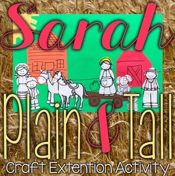 Sarah, Plain and Tall Book Extension Art/Summary Activity
