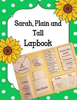 Sarah, Plain and Tall Lapbook Novel Activity. Plot Setting