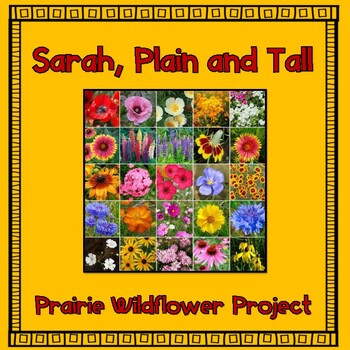 Sarah, Plain and Tall:  Prairie Wildflower Project