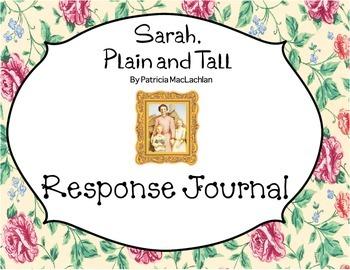 Sarah, Plain and Tall Reading Response Journal