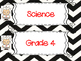 Saskatchewan Grade 4 Science I Can Statement Posters in Bl