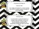 Saskatchewan Grade 5 ELA I Can Statement Posters in Black/