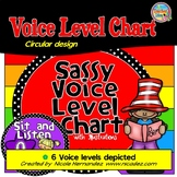 Voice Level Chart-(Sassy Circular Design)