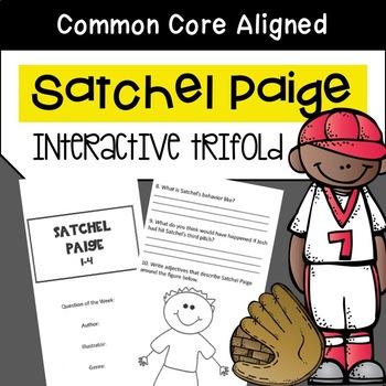 Satchel Paige Trifold Worksheet (5th Grade Reading Street