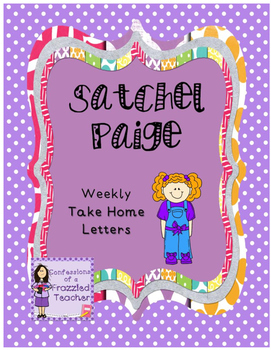 Satchel Paige Weekly Take Home Letters (Scott Foresman Rea