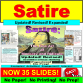 Satire : PowerPoint Lesson and Exercises
