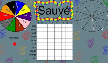 Sauvé! A Smart Notebook French Game of Discovery Using Col