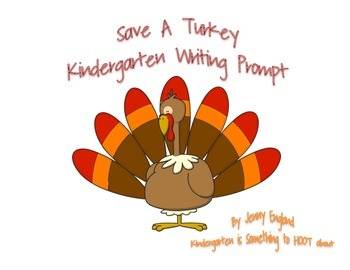 Save A Turkey- Writing Prompt
