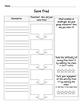 Save Fred Lab Sheet