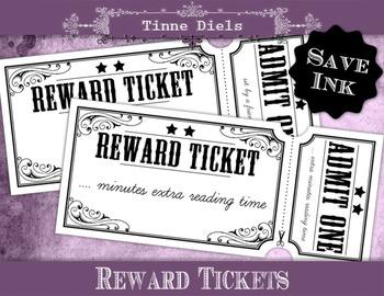 Save Ink Reward Tickets + Bonus detailed tutorial to add t