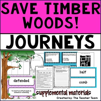 Save Timber Woods! Journeys Fourth Grade Supplemental Materials