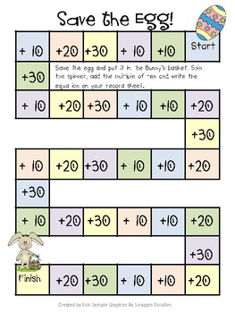 Save the Egg! Adding Multiples of 10