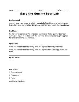 Save the Gummy Bear