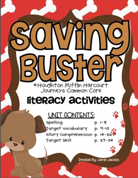 Saving Buster (Journeys Supplemental Materials)