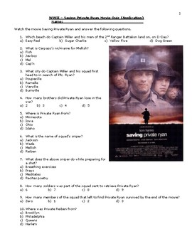 saving private ryan coursework Saving private ryan- background context a powerpoint to include key moving image terms and useful background to the film useful before undertaking the english media.