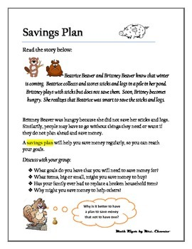 Savings Plan Article-Financial Literacy/Texas