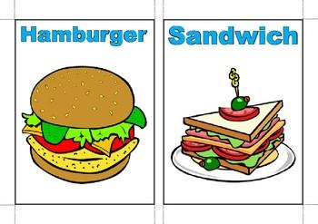 Savoury Food flashcards