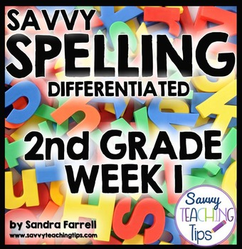 Savvy Spelling for Second Grade Week 1