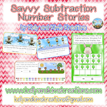 Savvy Subtraction Number Stories
