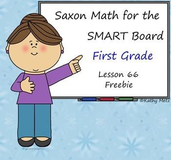 Saxon Math for the SMART Board--Freebie of Lesson 66