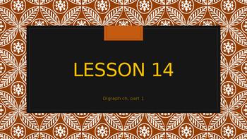 Saxon Phonics 2nd Grade Lesson 14