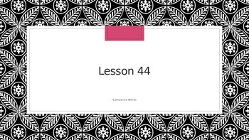 Saxon Phonics 2nd Grade Lesson 44