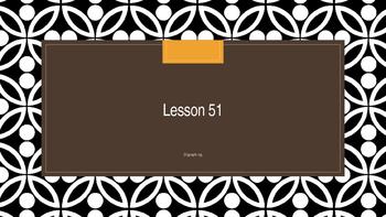 Saxon Phonics 2nd Grade Lesson 51
