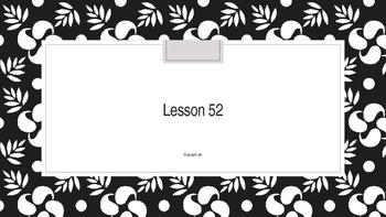 Saxon Phonics 2nd Grade Lesson 52