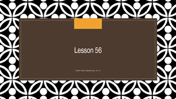 Saxon Phonics 2nd Grade Lesson 56