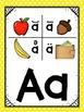 Saxon Phonics Alphabet Cards {First Grade Posters} {Many B
