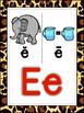 Saxon Phonics Alphabet Posters {animal print}