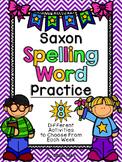 Saxon Phonics Spelling Word Practice {First Grade}