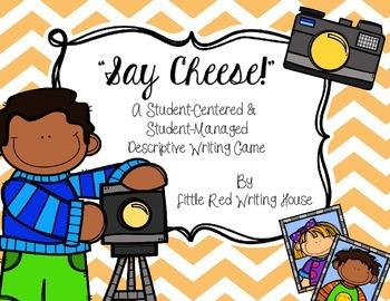 """""""Say Cheese!"""" Descriptive Writing Game"""