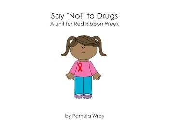 """Say """"No"""" to Drugs (A Red Ribbon PowerPoint Presentation)"""