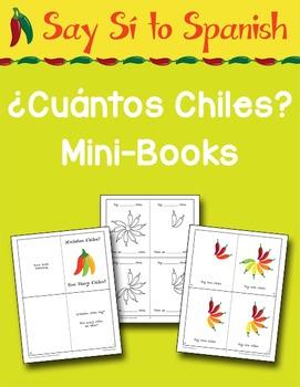 Say Sí to Spanish: ¿Cuántos Chiles? Mini-Books