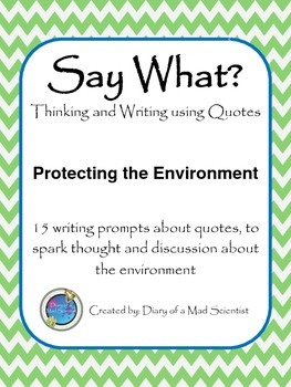 Say What? - Thinking and Writing using Quotes - Protecting