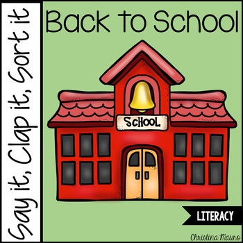 Back to School Syllables