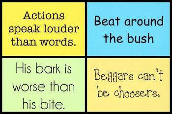 Says & Phrases Signs ~ 3rd Grade