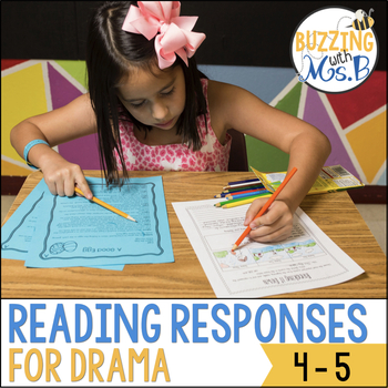 Scaffolded Reading Responses for Drama and Plays: great fo